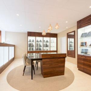 Inredo referensbild, smyckesbutik Bern Helsingborg