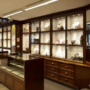 Inredo referensbild, smyckesbutik Carl Hoff