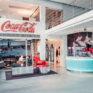 Inredo referensbild, kontor Coca Cola
