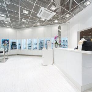 Inredo referensbild, Smyckesbutik Malmö