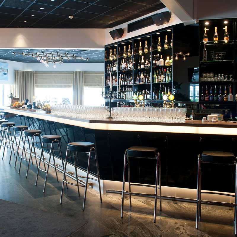 Inredo referensbild, restaurang Teaterkatten Helsingborg